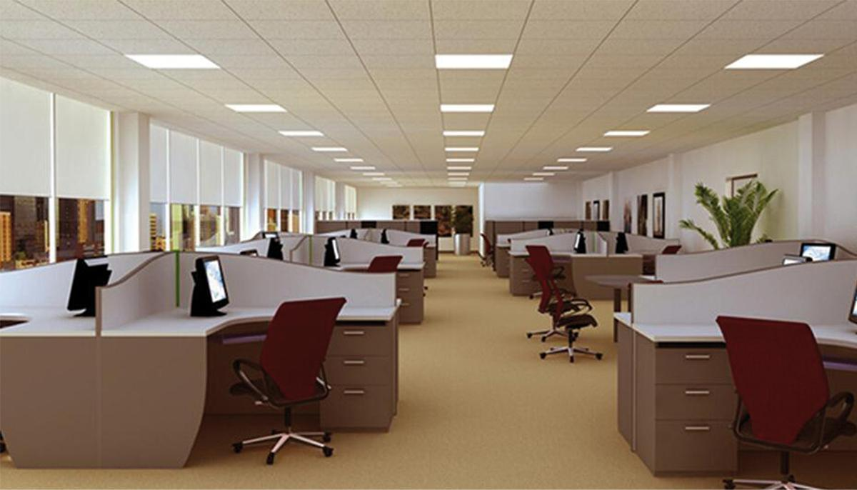 Przykłady modernizacji oświetlenia w biurowcu